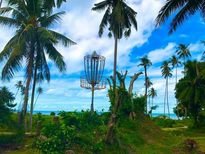Try playing Disc Golf