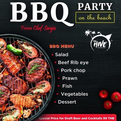 BBQ Party on Saturday Night