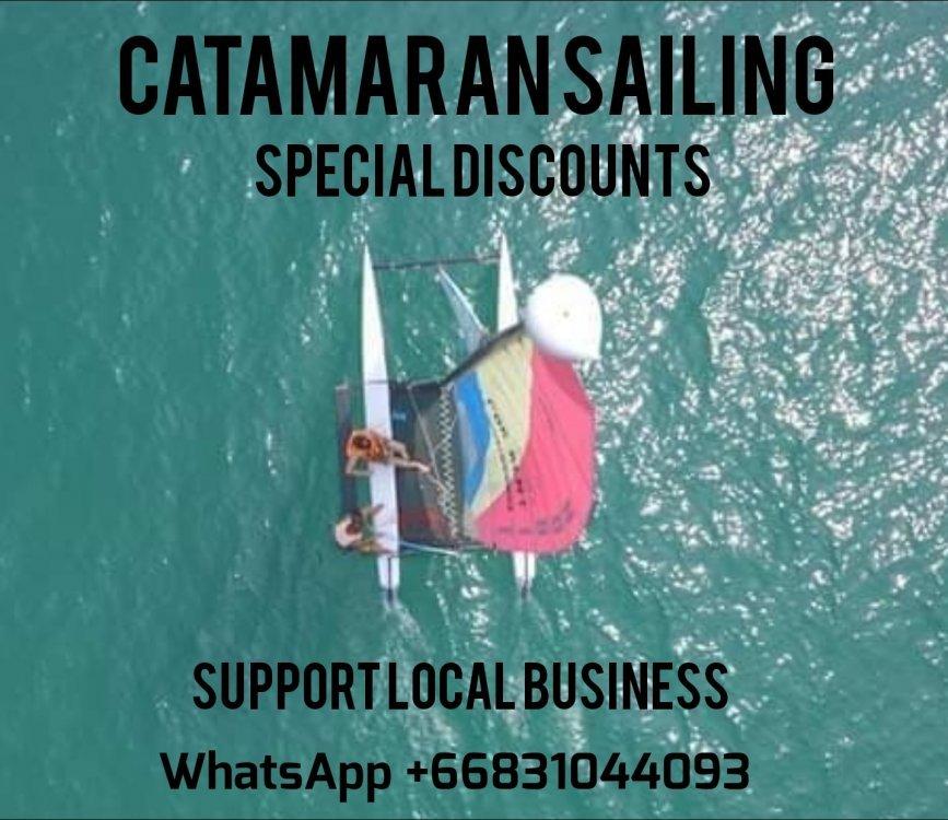 Loy Krathong Special 500 Baht For 2 Hours Hobie Sailing
