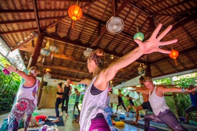 Yoga & Medicinal Plant-Based Cuisine