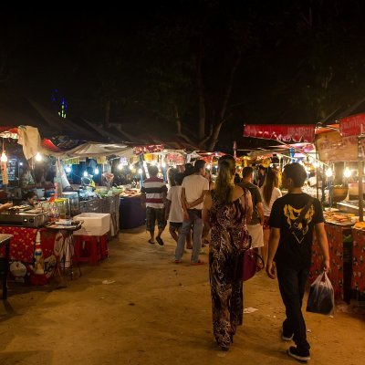 Night Market ANGRHONG