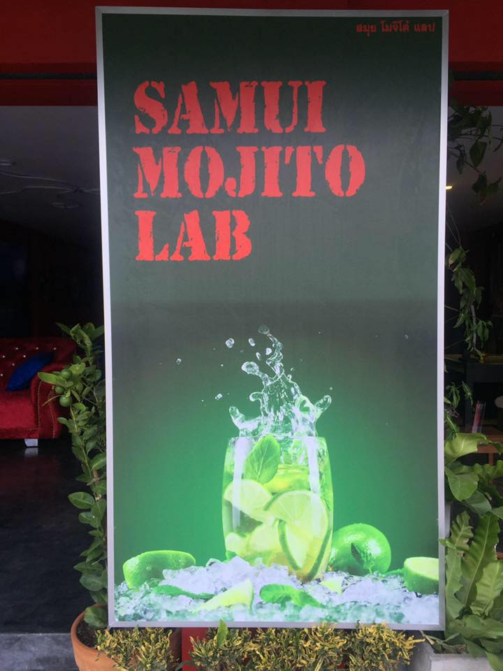 Samui Mojito Lab lounge bar