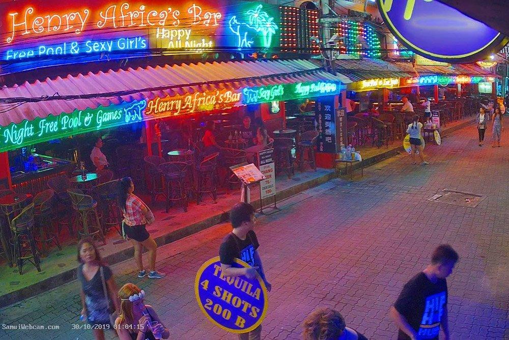 Hush Bar, Soi Green Mango (Chaweng)  – Samui Webcam online