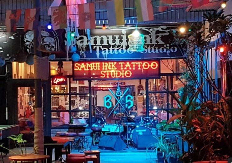 Samui ink tattoo studio