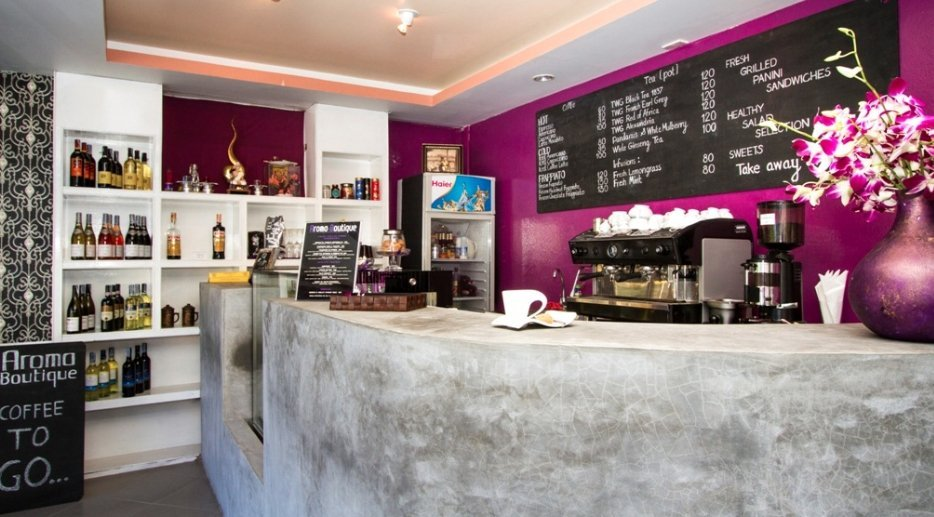 Aroma Boutique Cafe Lounge