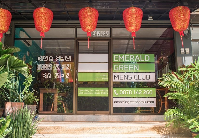 Emerald Green Mens Club