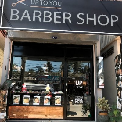 Up to you barber shop