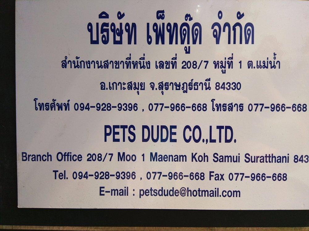 Pet's Dude