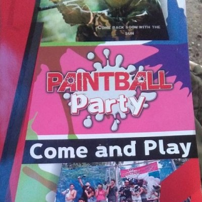 Samui Paintball Party