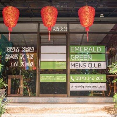 Emerald Green Mens Club