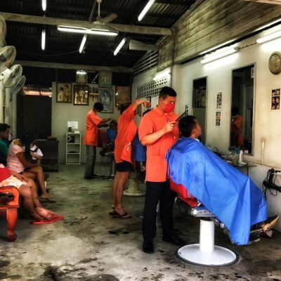Cun Cat Mens Barber Koh Samui