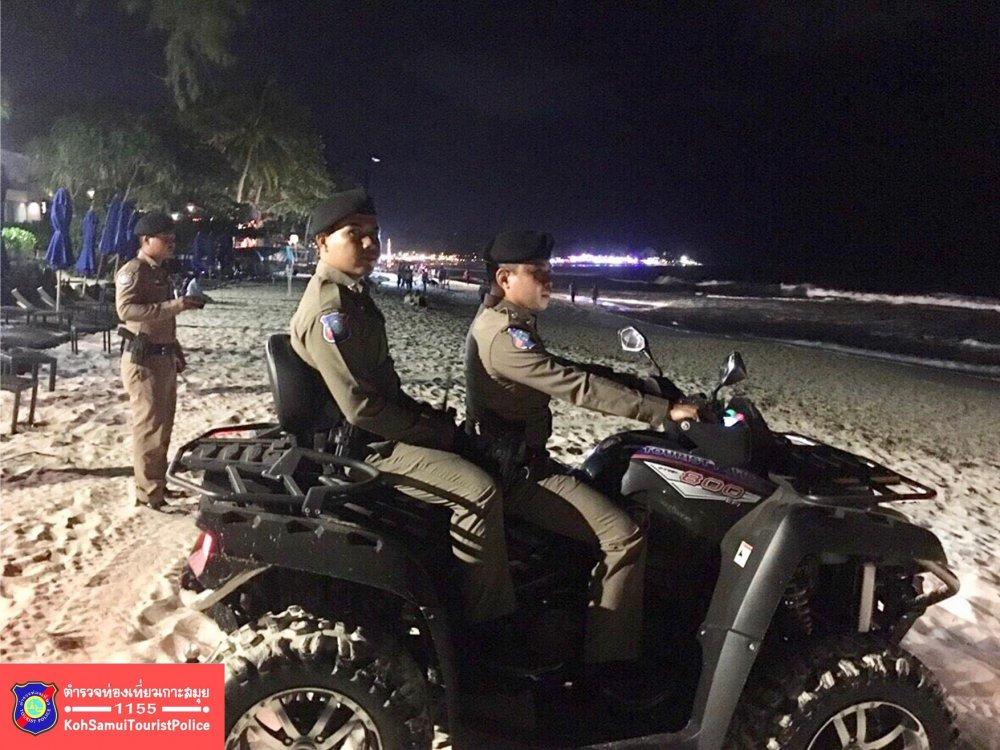 Tourist Police Bophut Koh Samui