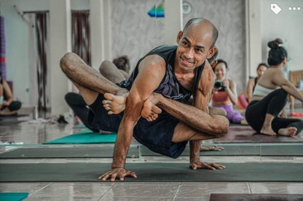 The yoga foundation Samui by Kru Sanya