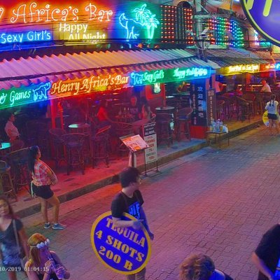 Hush Bar, Soi Green Mango (Chaweng)  – Samui Webcam online
