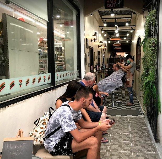 2-Meter Barber Shop