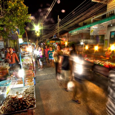 Bophut Night Market (Fishermans Village)