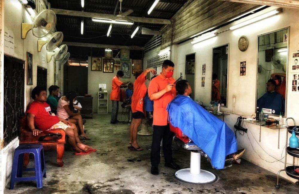 Cun Cat Mens Barber Koh Samui