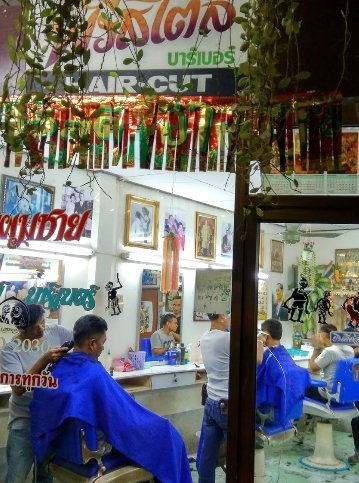 Barber Shop Koh Samui