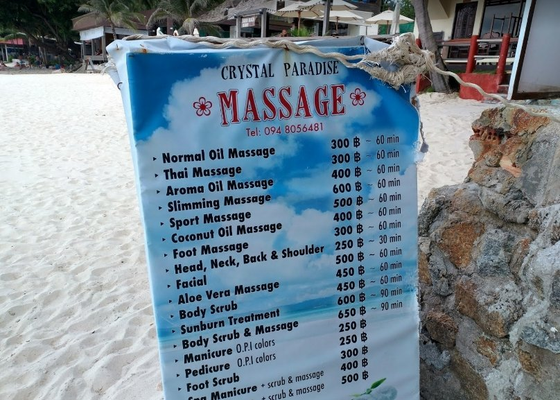 Crystal Paradise Massage