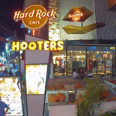 Hooters & HardRock cafe Live (Chaweng) – Samui Webcam online