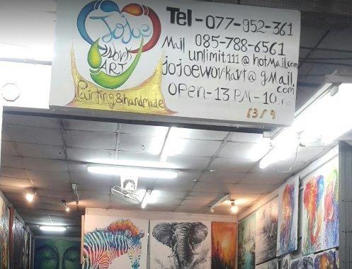 Jojoe Work art Painting