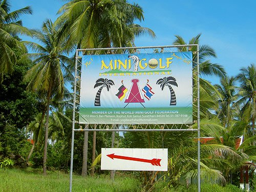 No.1 Jungle Golf Koh Samui
