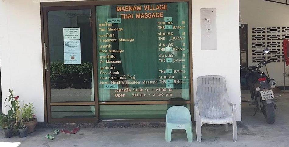 Maenam Village Thaimassage