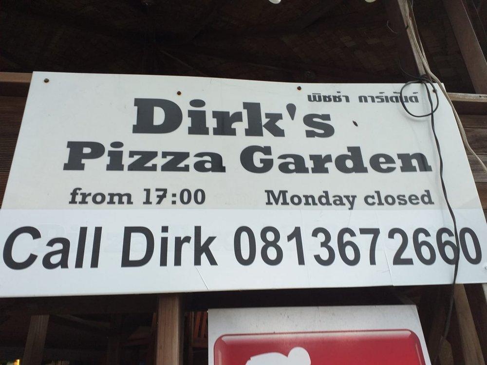 Dirk's Pizza Garden